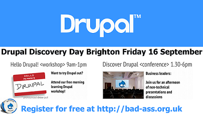 Drupal Discovery Day - Brighton