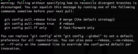 Git 2.27 merge message